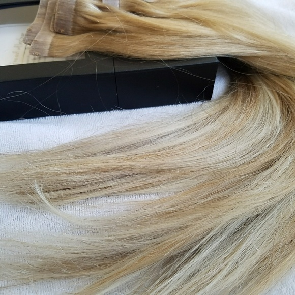 Luxy Other Blonde Balayage Toned Clip In Hair Extensions Poshmark